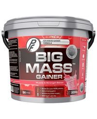 Proteinfabrikken Big Mass Gainer Strawberry 3kg - Proteinpulver (30000143)