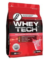 Proteinfabrikken Whey Tech Strawberry 1kg - Proteinpulver (30000323)