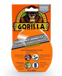 Gorilla Clear Repair 8,2m - Tape (24620)