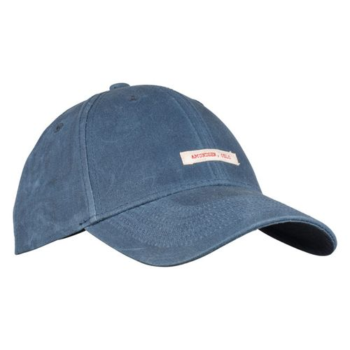 Amundsen Sports Waxed Cotton - Caps - Faded Navy (UCA04.1.590.M)