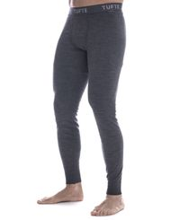 Tufte Wear Bambull Long Johns - Longs - Grå