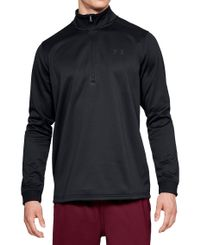 Under Armour Armour Fleece Half-Zip - Trøye - Svart (1320745-001)