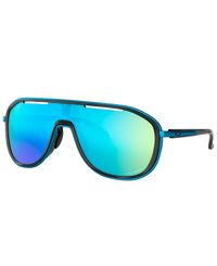 Oakley Outpace Polished Black - Solbriller - Prizm Sapphire (OO4133-03)