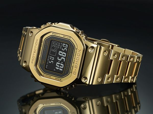 CASIO G-Shock GMW-B5000GD - Klokke - Gull (GMW-B5000GD-9ER)