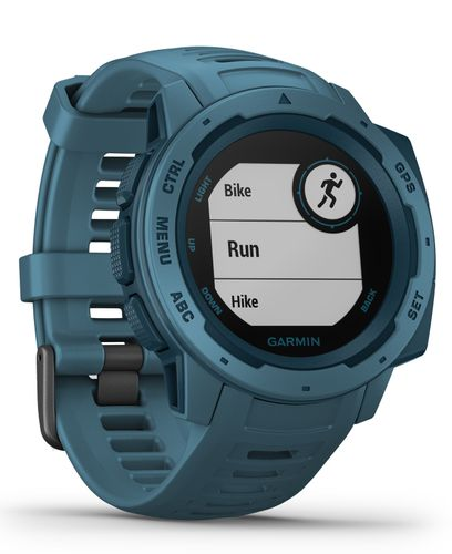 GARMIN Instinct - Klokke - Lakeside Blue (010-02064-04)