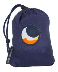 Ticket To The Moon Eco Super Market Bag 40L - Bag - Marineblå/Grå