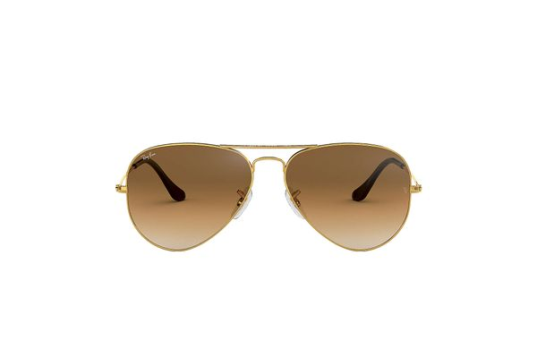RAY-BAN Aviator Gold - Solbriller - Crystal Brown (RB3025-001/51-55)