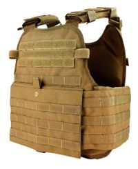 Condor Modular Operator Plate Carrier - Vest - Coyote