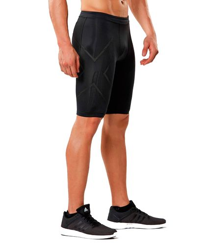 2XU MCS Run Comp - Shorts - Black/ Black Reflective (114556)
