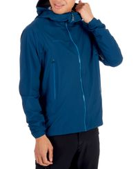 Mammut Masao Light HS Hooded Men - Jakke - Poseidon