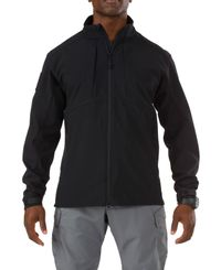 5.11 Tactical Sierra Softshell - Jakke - Svart (78005-019)