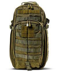 5.11 Tactical Rush Moab 10 Sling Pack - Sekk - Olivengrønn