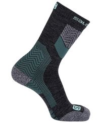 Salomon Outpath Wool - Sokker - Urban Chic/ Yucca (LC1217800)