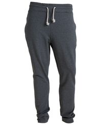 Tufte Wear Mens Sweatpants - Joggebukse - Dark Grey Melange (2003-004)