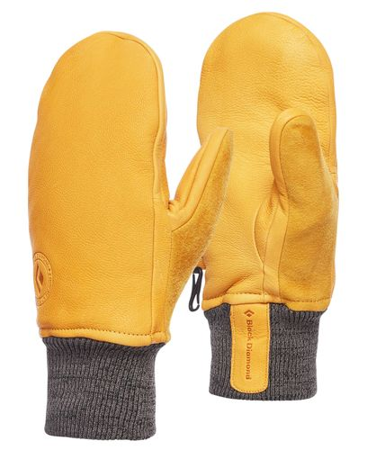 Black Diamond Dirt Bag Mitts - Hansker - Natural (BD8018627004-L)