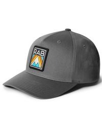 Rab Base Cap - Caps - Dark Grey Aztec