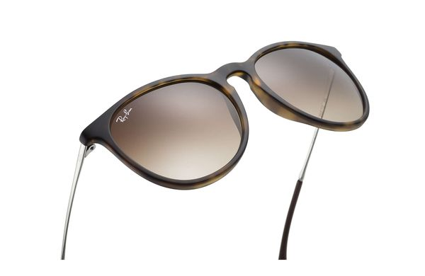 RAY-BAN Erika Tortoise - Solbriller - Brown Gradient - 54 (RB4171-865/13-54)