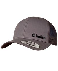 Halite Trucker - Caps - Grå
