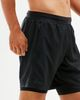 2XU 7 Inch 2 in 1 - Shorts - Svart (MR5966b-S)