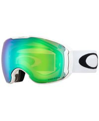 Oakley Airbrake XL Polished White - Goggles - Prizm Jade & Prizm Sapphire (OO7071-09)