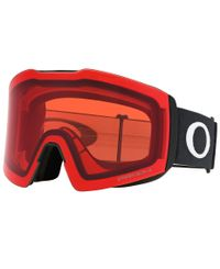 Oakley Fall Line XL Black - Goggles - Prizm Snow Rose (OO7099-04)