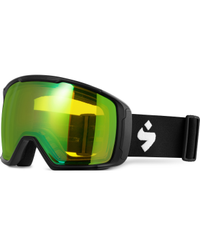 Sweet Protection Clockwork MAX Matte Black - Goggles - Beryl Yellow