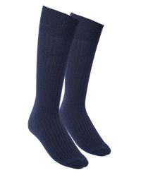 Greater Than A Base Wool Terry - Sokker - Marineblå - 40-45 (1803012-200-40-45)