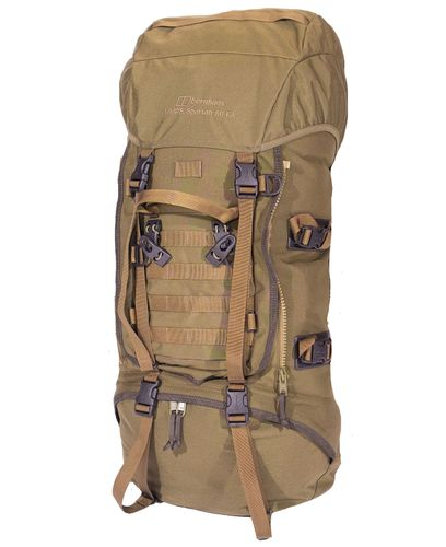 Berghaus Tactical MMPS Spartan 60 FA - Sekk - Earth Brown (LV00089-EB1-4)