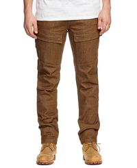 SA1NT Twill Cargo - Bukse - Stone (4058-SMP-STN)