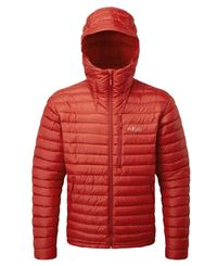Rab Microlight Alpine - Jakke - Mars Red (QDA-90-MA)