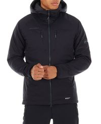 Mammut Rime IN Flex Hooded - Jakke - Svart (1013-00500-00189)