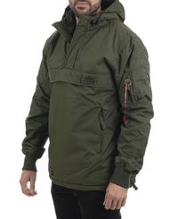 Alpha Industries WP - Jakke - Dark green (193188132-257)