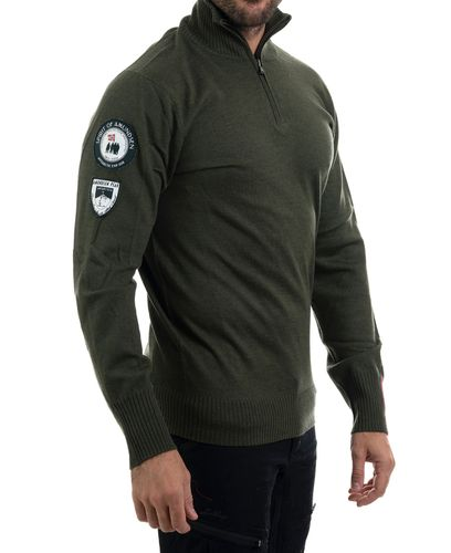 Amundsen Peak Half Zip - Genser - Earth (MSW02.2.410.XL)
