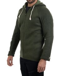 Amundsen Boiled Hoodie Jacket - Genser - Earth (MSW15.2.410)