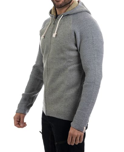 Amundsen Boiled Hoodie Jacket - Genser - Light Grey (MSW15.2.800.L)