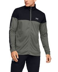 Under Armour Sportstyle Pique - Jakke - Gravity Green/ Black (1313204-388)