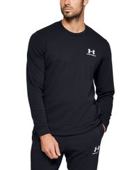 Under Armour Sportstyle Terry Logo - Genser - Svart (1355629-001)