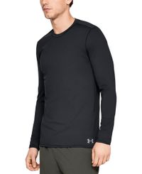 Under Armour Cold Gear Fitted Crew - Trøye - Svart