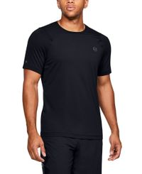 Under Armour RUSH HeatGear Fitted - T-skjorte - Svart (1353450-001)