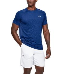 Under Armour MK-1 Jacquard - T-skjorte - Blå (1351562-449)