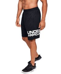 Under Armour Tech Wordmark - Shorts - Svart (1351653-001)