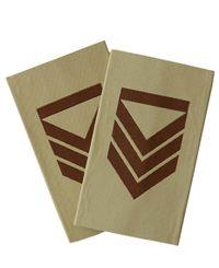 Uniform Hær/Luft OR5 Ørken - Sersjant kl.1 - Norge - Distinksjoner (U-MHLORDED-06)