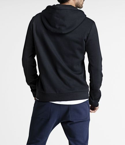 Björn Borg BB Centre Hoodie - Hettejakke - Black Beauty (9999-1114-90651)