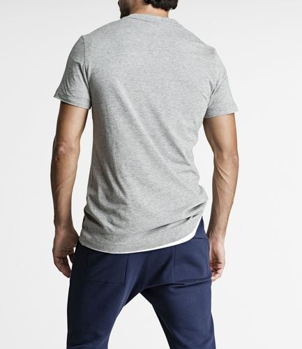 Björn Borg BB Centre Regular Tee - T-skjorte - Light Grey Melange (9999-1118-90741)