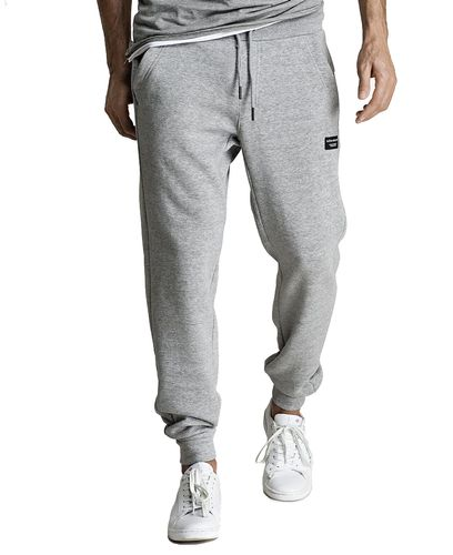 Björn Borg BB Centre Pant - Joggebukse - Light Grey Melange (9999-1116-90741)