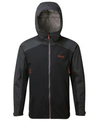 Rab Kinetic Alpine - Jakke - Beluga (QWF-75-BE)