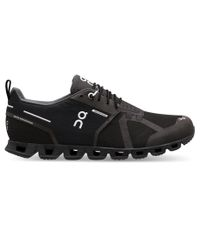 On Cloud Waterproof - Sko - Black/Lunar