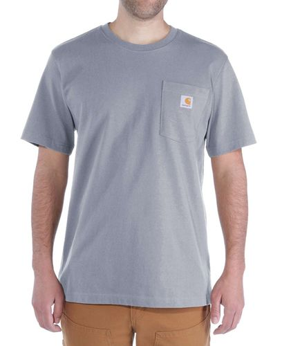 Carhartt Workwear Pocket - T-skjorte - Heather Grey (103296034)