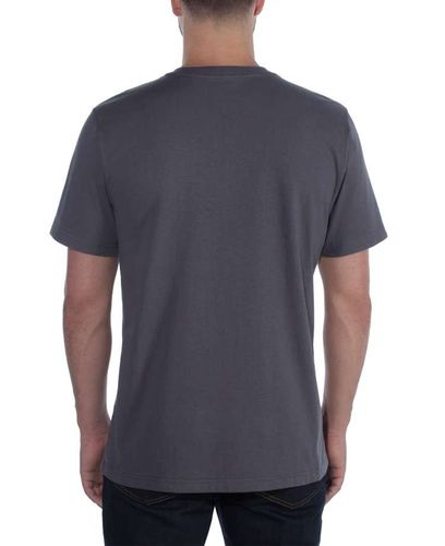 Carhartt Workwear Explorer Graphic - T-skjorte - Bluestone (104183BLS)