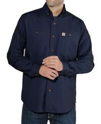 Carhartt Rugged Flex Rigby Work - Skjorte - Marineblå (103554412)